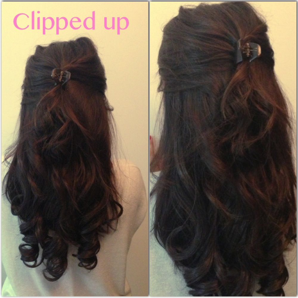 Get the most out of your hair extensions emergingbeautybrands blog adding a clip to your hair is perfect on hot days when you want those short annoying bits out of your face pmusecretfo Choice Image
